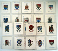 Arms of Public Schools  (First Series)  Set of 25 cards (1933)