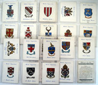 Arms of Public Schools  (Second Series)  Set of 25 cards (1934)