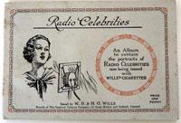 Radio Celebrities (First series) Full set of 50 cards in Album (1934)