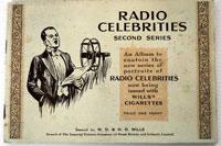 Radio Celebrities (Second series) Full set of 50 cards in Album (1935)