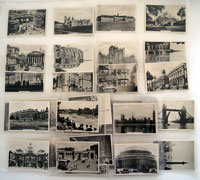 Real Photographs of Famous Landmarks  Full set of 36 cards (1939)