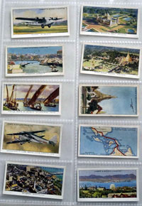 Full Set of 50 Cigarette Cards: Empire Air Routes (1936) by Various