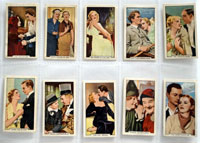 Full Set of 48 Cigarette Cards: Famous Film Scenes (1935) by Various