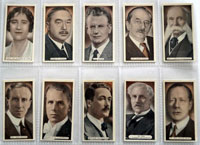 Full Set of 25 Cigarette Cards: Famous Scots  (1935) by Various