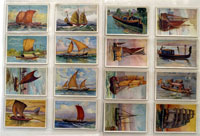 Ships of all Ages: Full Set of 50 Cigarette Cards (1929)