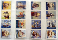 Ships That Have Made History: Set of 36 Cigarette Cards (1938)