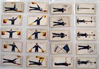 Signalling Series: Full Set of 50 Cigarette Cards (1912)