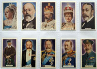 Full Set of 50 Cigarette Cards: Silver Jubilee (1935) by Various