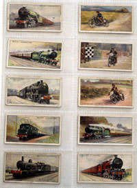 Full Set of 50 Cigarette Cards Speed (1930)