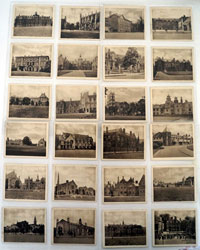 Public Schools and Colleges  Full set of 75 cards (1923)