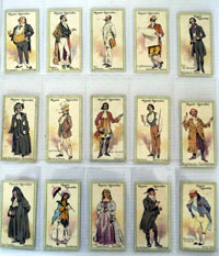 Characters From Thackeray  Full set of 25 cards (1913)