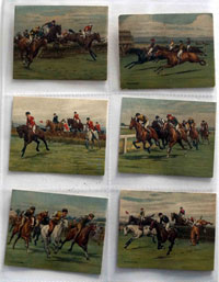 Full Set of 25 Cigarette Cards: Races Historic and Modern (1927) by Various