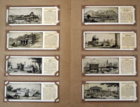 Wonder Cities of the World  Full set of 25 card in album (1933)