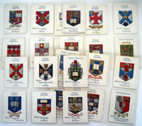 Arms of Universities   Full Set of 25 cards (1923)