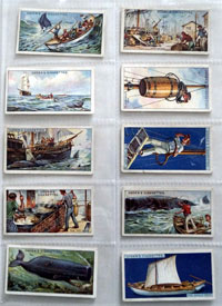 Full Set of 25 Cigarette Cards: Whaling (1927) by Various