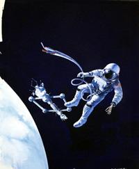 Dynostar Menace cover art art by Michael Codd