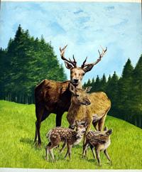 Bambi's Children cover art art by Michael Codd