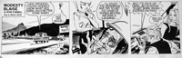 Modesty Blaise daily strip 5531 by Neville Colvin