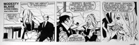 Modesty Blaise daily strip 5184a by Neville Colvin