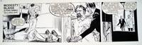 Modesty Blaise daily strip 6418 art by Neville Colvin