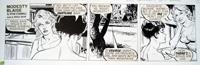 Modesty Blaise daily strip 6420 art by Neville Colvin