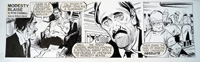 Modesty Blaise daily strip 6422 by Neville Colvin