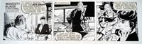 Modesty Blaise daily strip 6429 by Neville Colvin