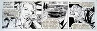 Modesty Blaise daily strip 6430 by Neville Colvin