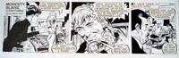 Modesty Blaise daily strip 6431 by Neville Colvin