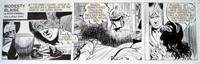 Modesty Blaise daily strip 6432 by Neville Colvin