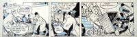 The Flutters daily strip Y5 art by Neville Colvin