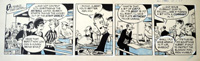 The Flutters daily strip Y21 art by Neville Colvin
