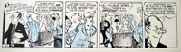 The Flutters daily strip Y12 art by Neville Colvin