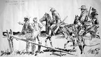 Boer War story illustration