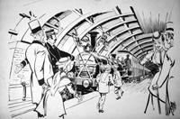 The First Underground Train