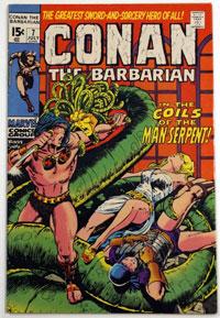 Conan the Barbarian #7 by Robert E Howard