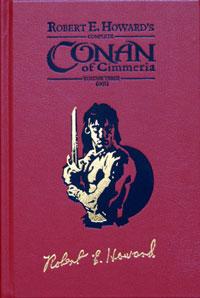 Complete Conan of Cimmeria  Volume 3 (1935)  Leatherbound (#42 / 100) by Robert E Howard