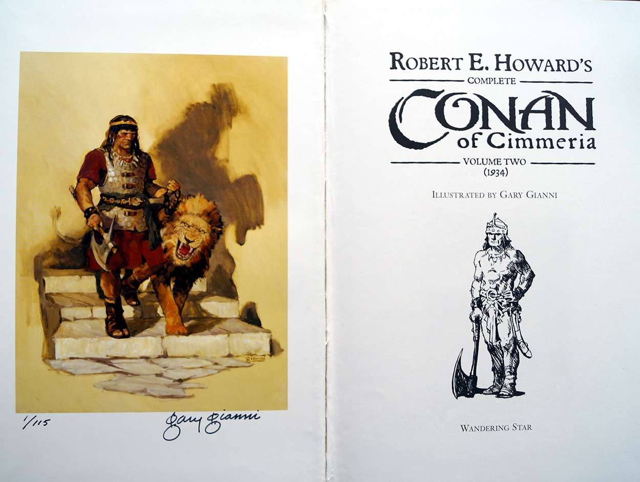 Copy #1 and signature page (click for bigger picture)