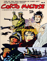 Corto Maltese vol. 4 A Midwinter Morning's Dream by Hugo Pratt
