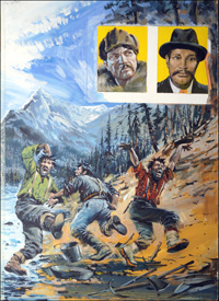Gold Rush art by Graham Coton