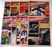 Collection of 9 Countdown comics (1971)