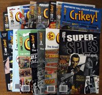Collection of 15 Crikey and I Super Spies and Secret Agents (2007-2010)