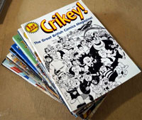 Crikey! magazine: Complete Set of 16 copies