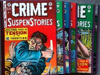 The Complete EC Library: Crime Suspenstories (5 Volume Boxed Set) by Edited by Al Feldstein, written by Al Feldstein, William M. Gaines & others