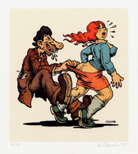 'Aw, Come on!' art by Robert Crumb