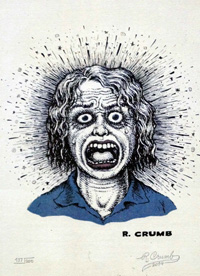 The Face by Robert Crumb