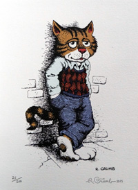 Fritz the Cat (Limited Edition Print) (Signed) by Robert Crumb