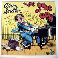 The Duke of Ook: Alan Seidler by Robert Crumb
