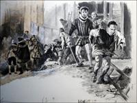 Shakespeare's Trickery art by Neville Dear
