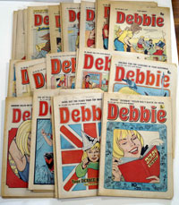 Collection of 31 Debbie comics 1976 – 1979